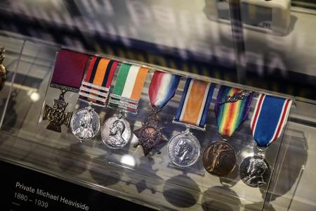 Medals of Private Michael Heaviside VC