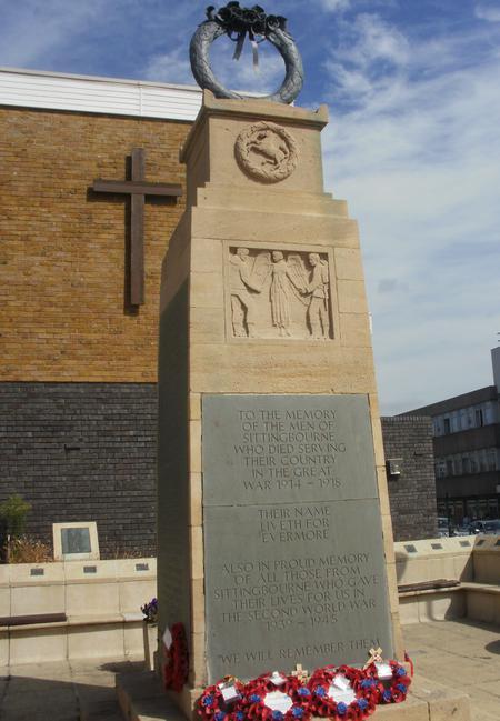 Memorial at Sittingbourne Kent