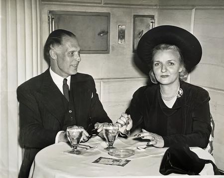 Charles and Eileen at the Waldorf Astoria