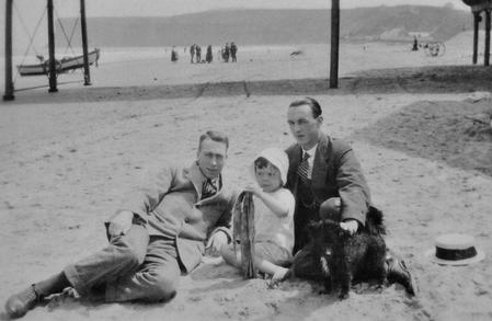 Saltburn-by-the-Sea, 1921.