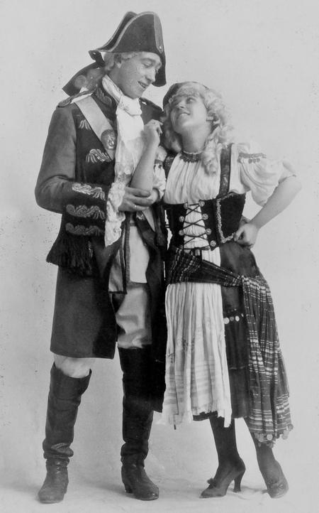 Rushden Amateur Operatic & Dramatic Society, 1922.