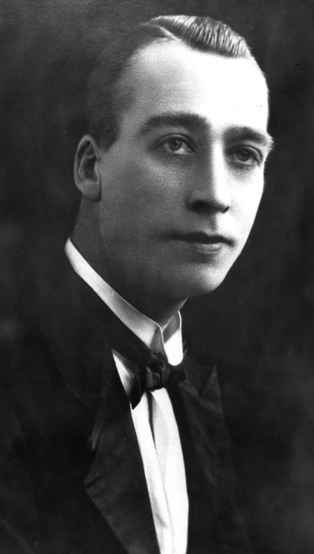 Edgar Chappell in formal attire, c.1923.