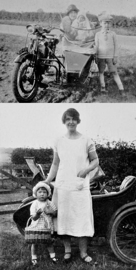 Chappell family transport, Rushden, 1924-1926.