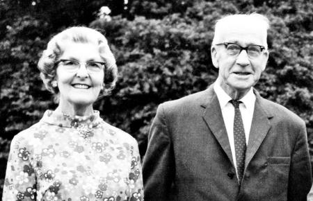 Edith and Edgar Chappell, 1969.