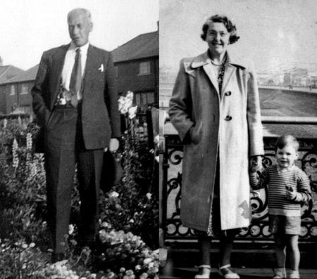 Heysham and Morecambe, early 1950s.