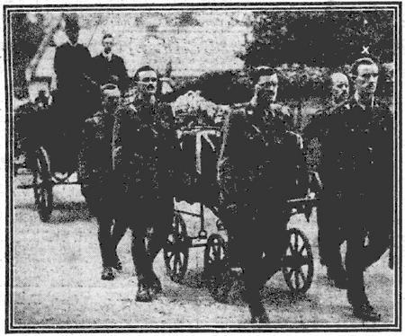 Funeral of Capt Hugh Chaplin