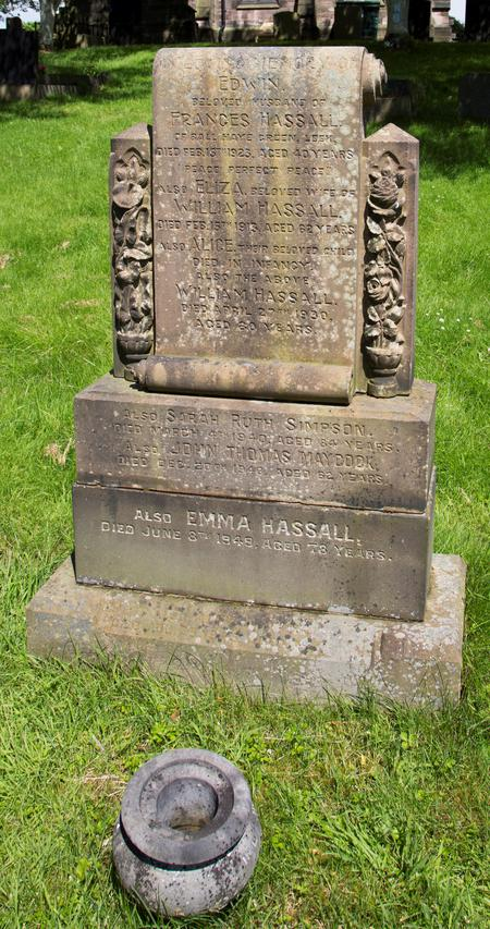 Hassall family grave