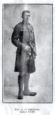 Profile picture for Alexander Davidson Johnston