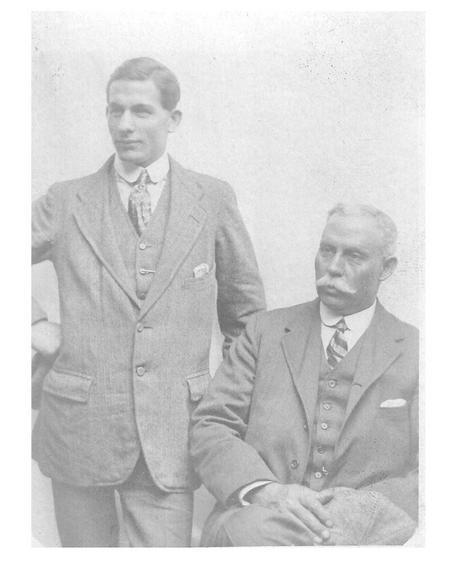 George Botting with Jesse Dobbs