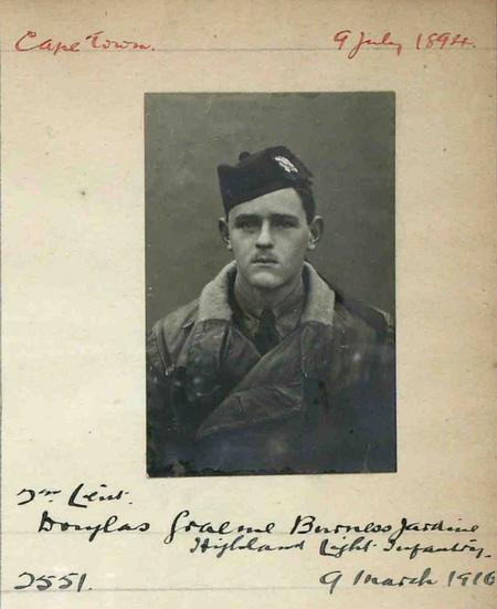 Profile picture for Douglas Graeme Burness Jardine
