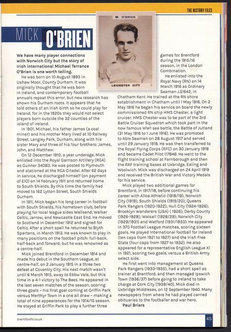 Article written by Paul Briers