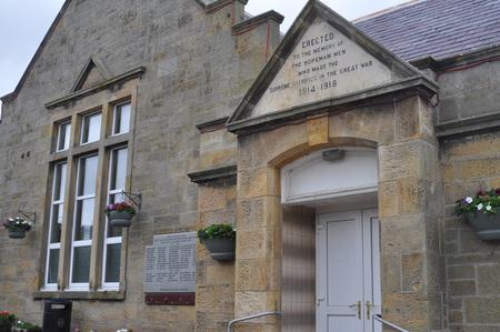 Memorial Hall, Hopeman, Morayshire