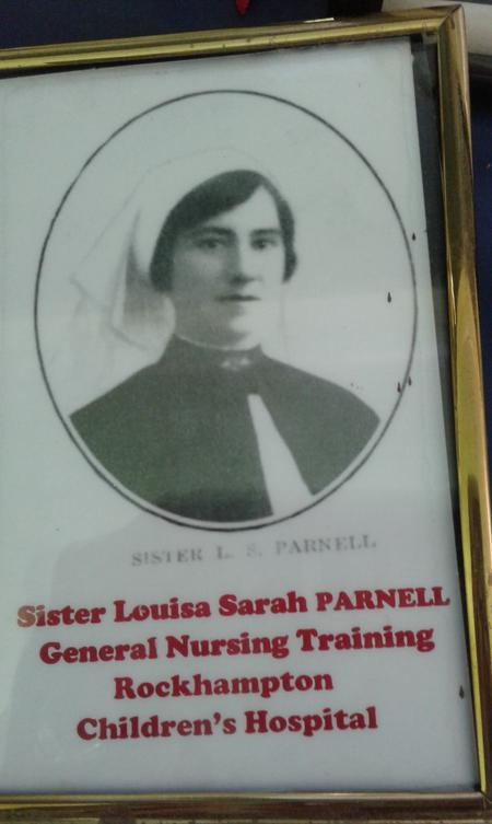 Profile picture for Louisa Sarah Parnell