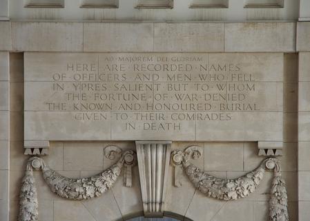Ypres (Menin Gate) Memorial.
