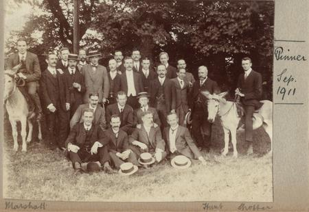 Group photo – from Barclays Bank photograph albums