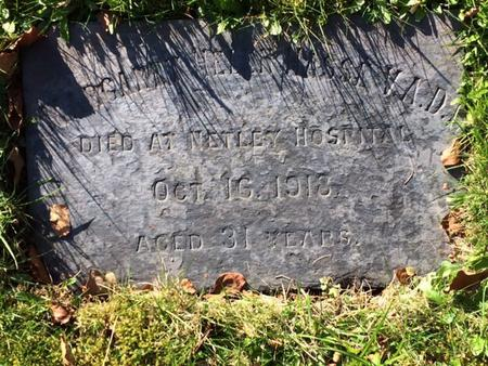 Grave of Margaret Helen Hasse