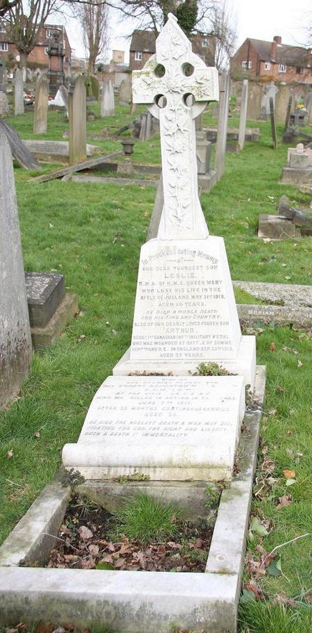 Arthur Nottingham's Grave
