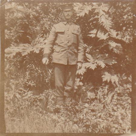 'Unc' in uniform