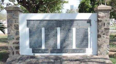 Up Park Camp Cemetery Memorial No 1