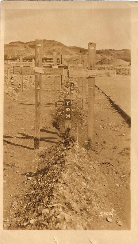 Gravesite in Etaples