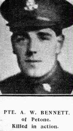 Profile picture for Alfred William Bennett