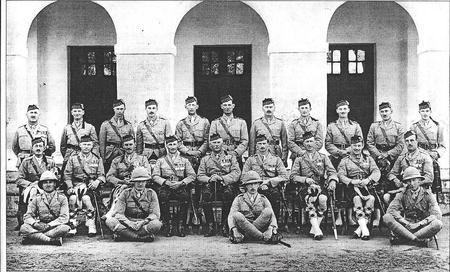 Officers of 2nd Battalion Seaforth Highlanders