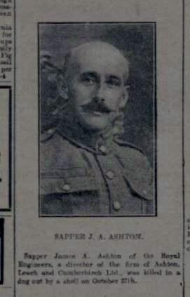 Profile picture for James A D Ashton