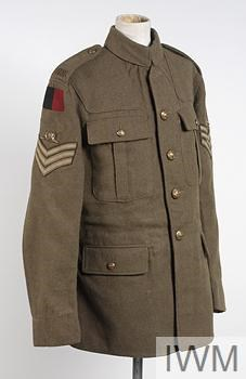 Jacket, 1907: Sergeant, Royal Field Artillery
