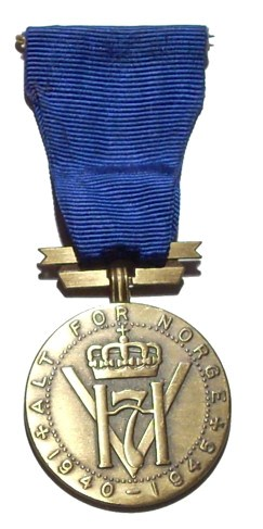 King Haakon VII Liberty Medal
