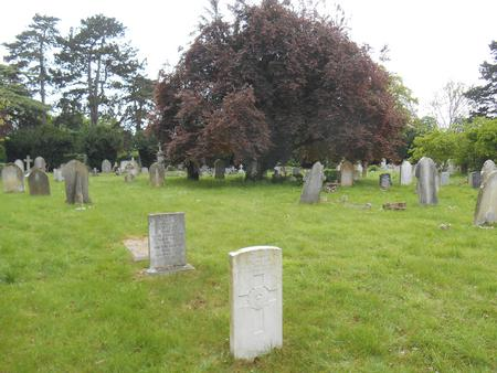Albert Charles Wilson, Headstone locn, Trumpington