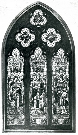 Memorial Window - Bethlehem Unitarian Church