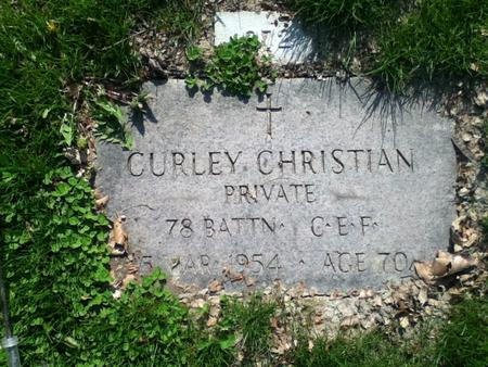 Profile picture for Curley Christian