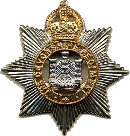Badge of The Devonshire Regiment