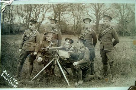 Lt John McClelland Adie at far left.
