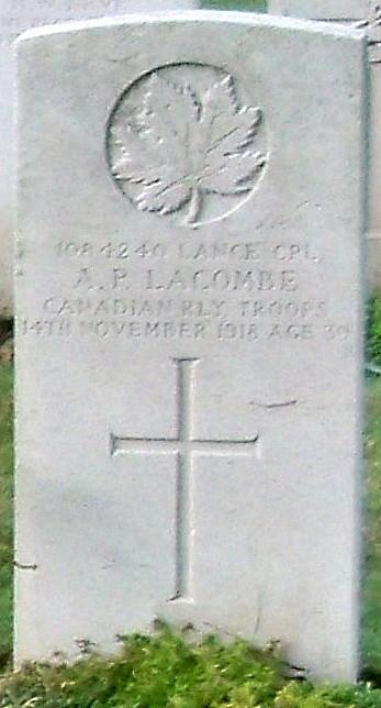 Profile picture for Albert Phillip Lacombe