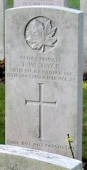 Profile picture for Frederick William Joyce