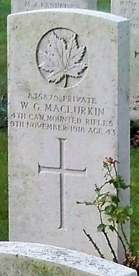 Profile picture for William George Mclurkin