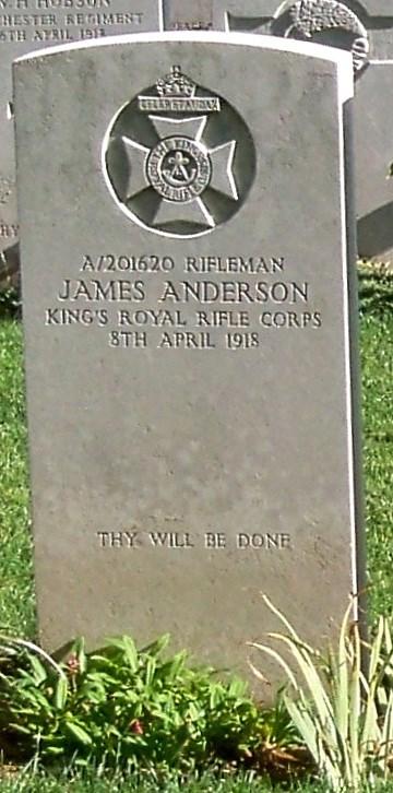 Profile picture for James Moffatt Craise Anderson