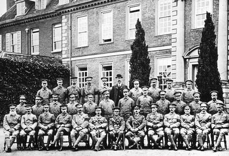 Trumpington Voluntary Training Corps, 1915