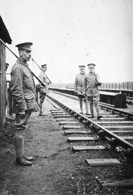 Trumpington V.T.C. on Duty