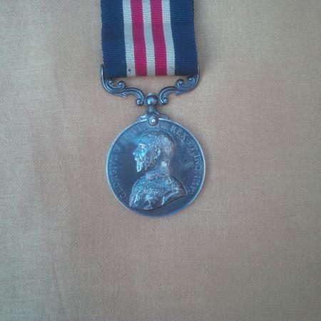 Charles Hearn's Military Medal