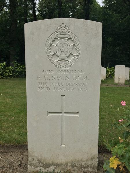 Gravestone of F.C Spain
