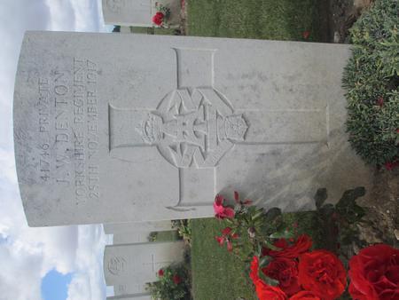 John W Denton's Gravestone