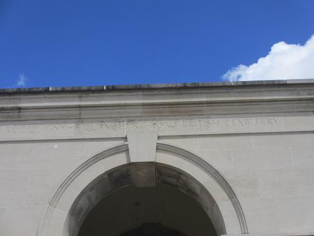 Rocquigny-Equancourt Road British Cemetery