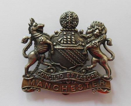 Manchester Regiment cap badge