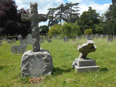 Hugh Chaplin, Headstone, Trumpington
