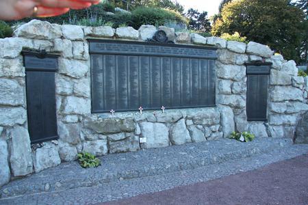 The Newfoundland Beamont Hamel Memorial.