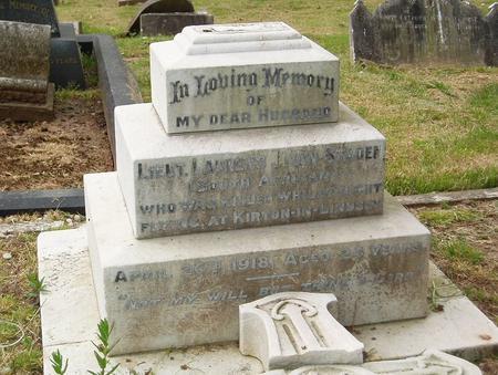 Grave of Laurens Van Staden