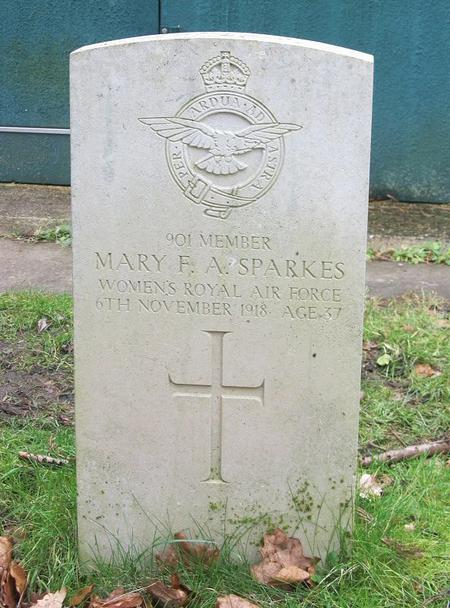 Profile picture for Mary Florence Alice Sparkes