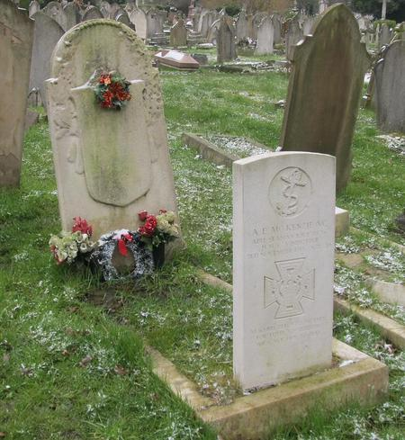 Grave in Camberwell Old Cemetery